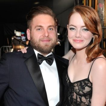 "Emma Stone and Jonah Hill had the most euphoric ""Superbad"" reunion at the SAG Awards"