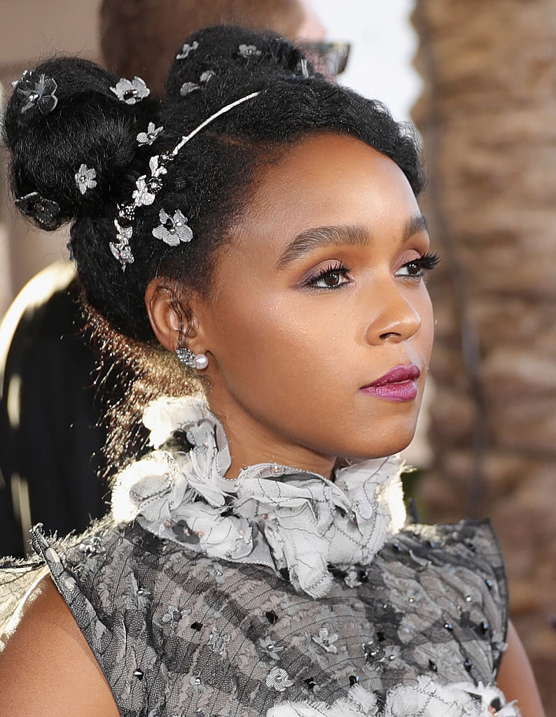 Janelle Mon 225 E Proves That You Can Make Space Buns Look
