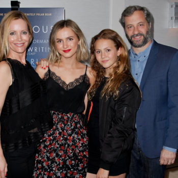 """Leslie Mann's advice for her daughter's career in Hollywood is all about doing it yourself, and we say """"Go Girl!"""""""