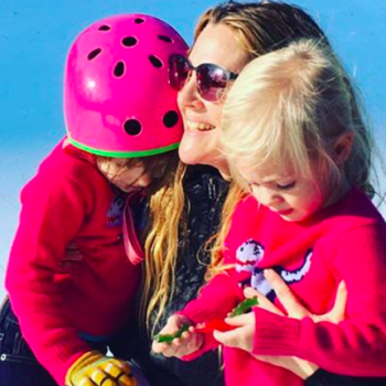 Drew Barrymore never wanted to be divorced with two little girls, but her attitude about it is empowering