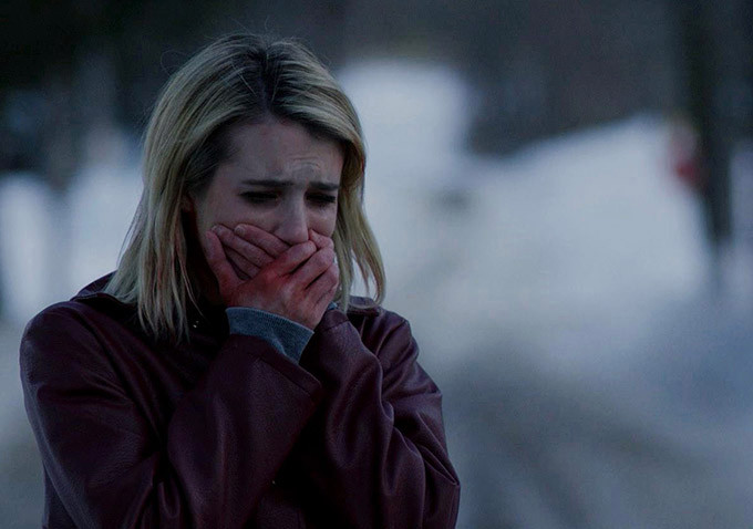 The trailer for Emma Roberts' new horror movie here, and ...