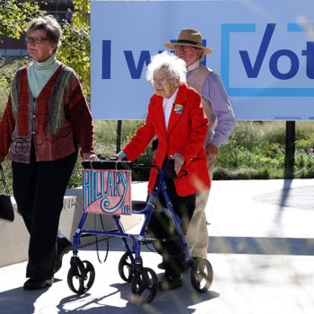 The centenarian who openly supported Hillary Clinton has passed away