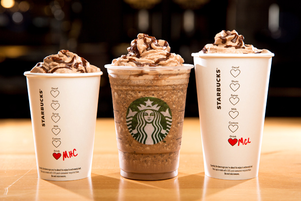 Starbucks is bringing back these three decadent drinks just for Valentine's Day