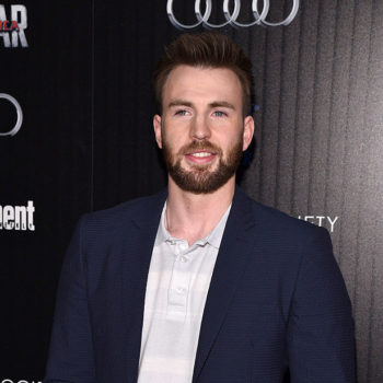 Chris Evans celebrated so hard when the Patriots won, and that's what Captain America would want