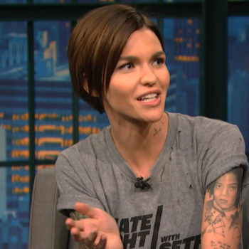 Ruby Rose admitted she got her big break while working the worst job ever