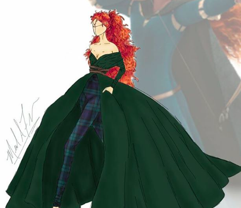 This designer brought Disney princess gowns to life, and ...
