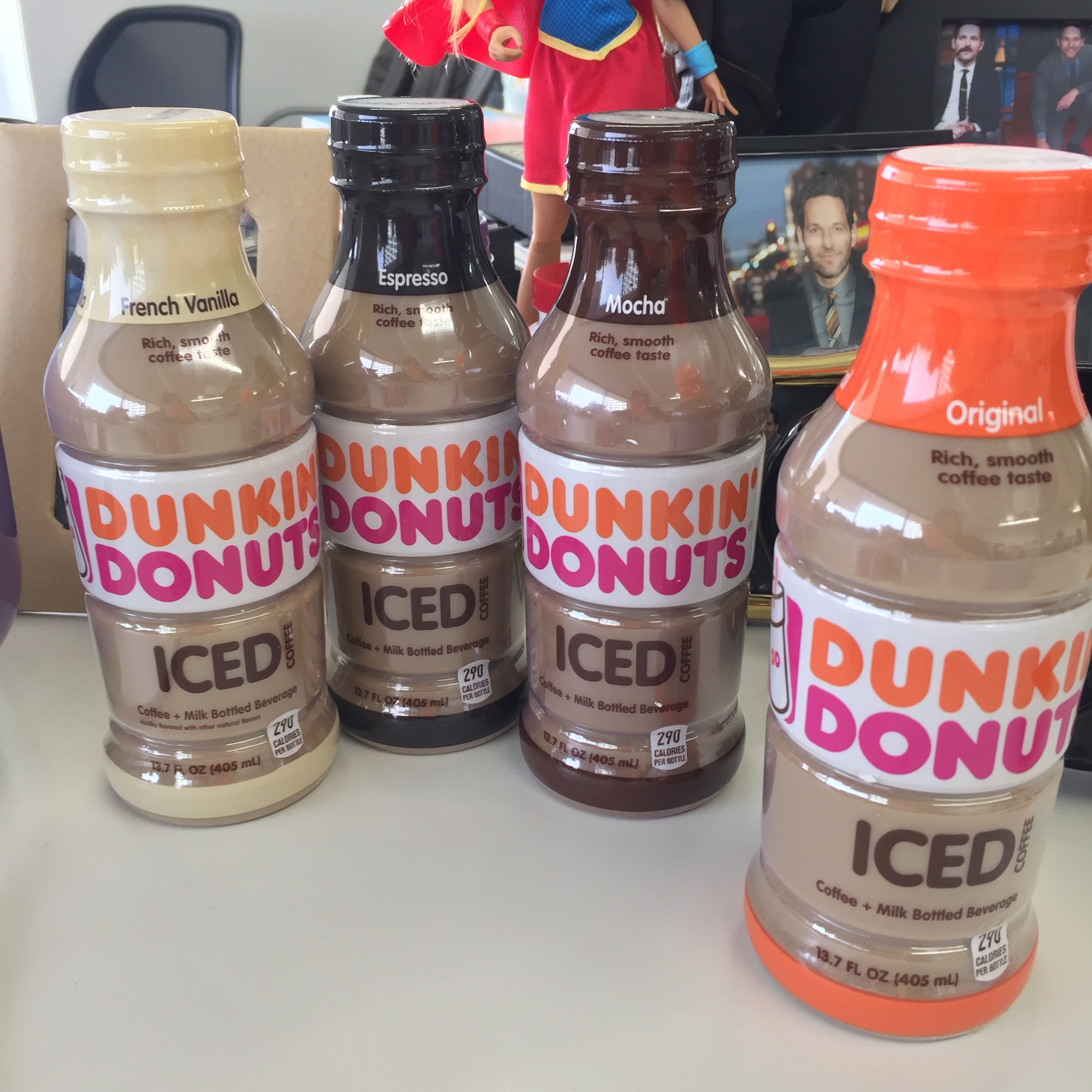 Dunkin Donuts Actually Sent The Four New Coffees To HelloGiggles And In Name Of Journalism Coffee We Tried Them All