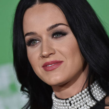 Katy Perry was black, white, and proud all over while accepting this most recent musical honor
