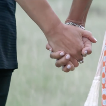 This ad campaign encourages LGBTQ couples to keep on holding hands, and we're tearing up