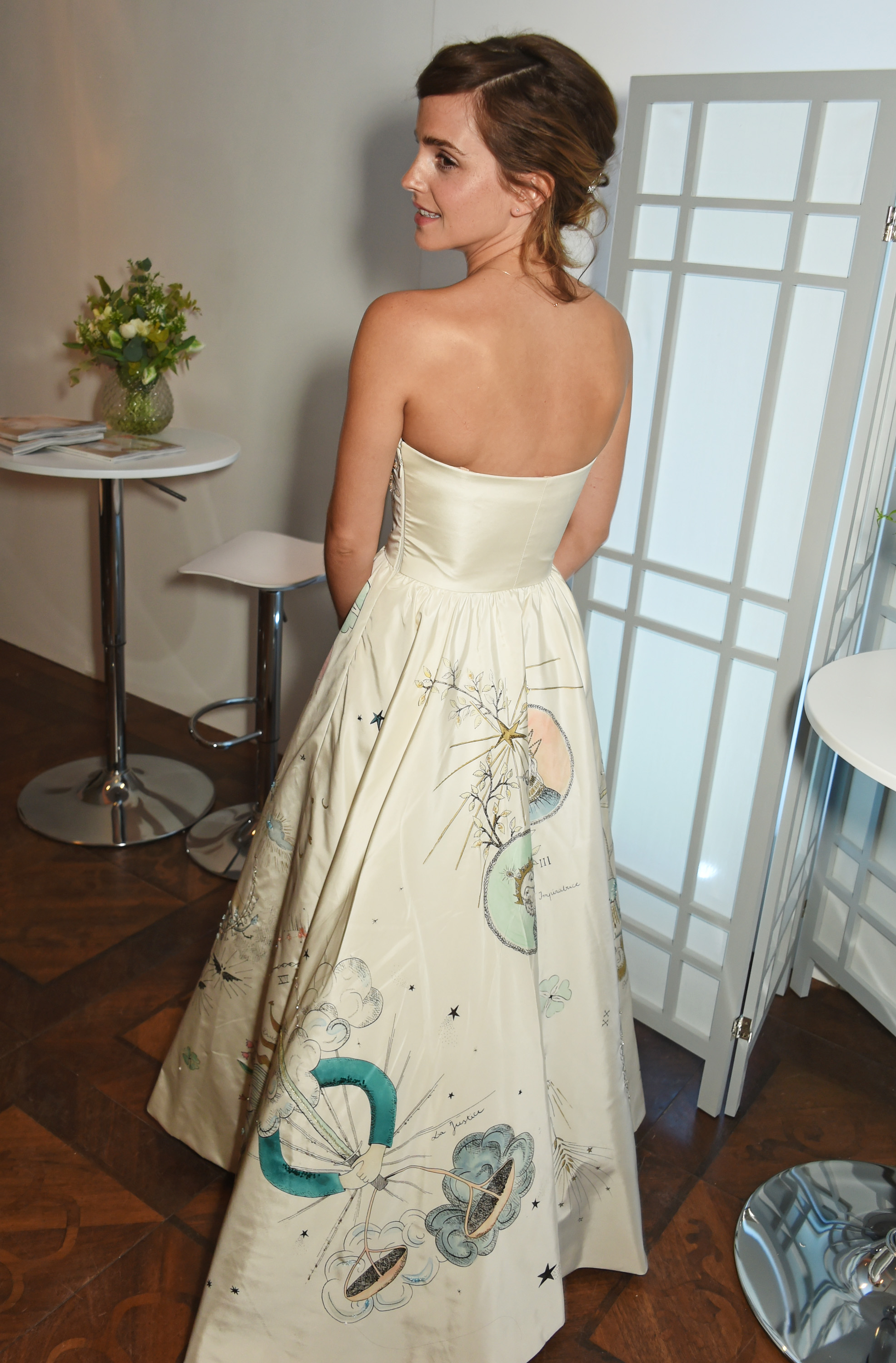 Emma Watson\'s latest dress looks like pages from a storybook we want ...