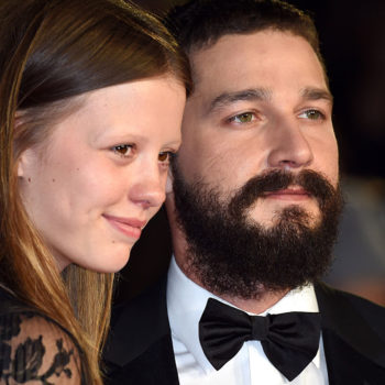 """Shia LaBeouf's wife Mia Goth calls him """"brilliant,"""" and we're swooning over spouses who support each other's work"""