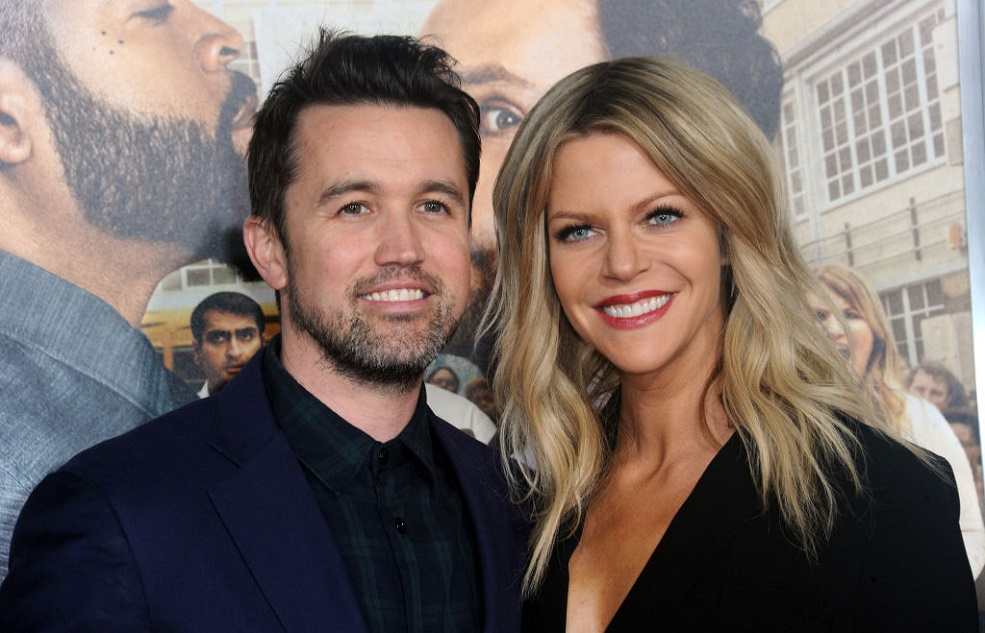 Kaitlin Olson And Rob Mcelhenney Wedding.This Is How Mac And Sweet Dee Celebrate Valentine S Day Irl