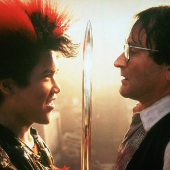 """There's a kickstarter for a """"Hook"""" prequel about Rufio, and we are behind this 100%"""