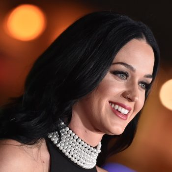 Katy Perry just made camo-glam a thing with an army green jacket and Marilyn Monroe hair