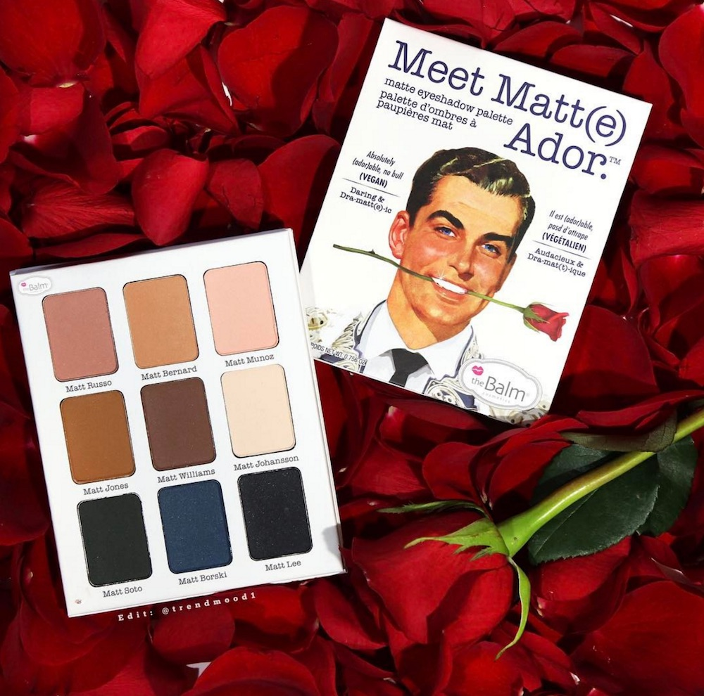 theBalm Cosmetics launched a new eyeshadow palette with the catchiest name