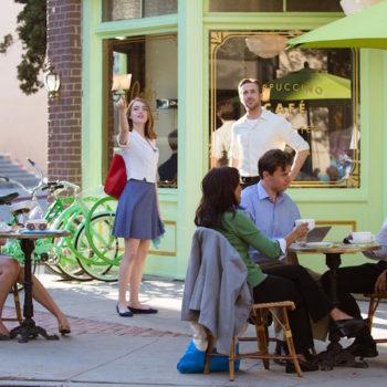 "You can now go to the coffee shop from ""La La Land"" for real!"