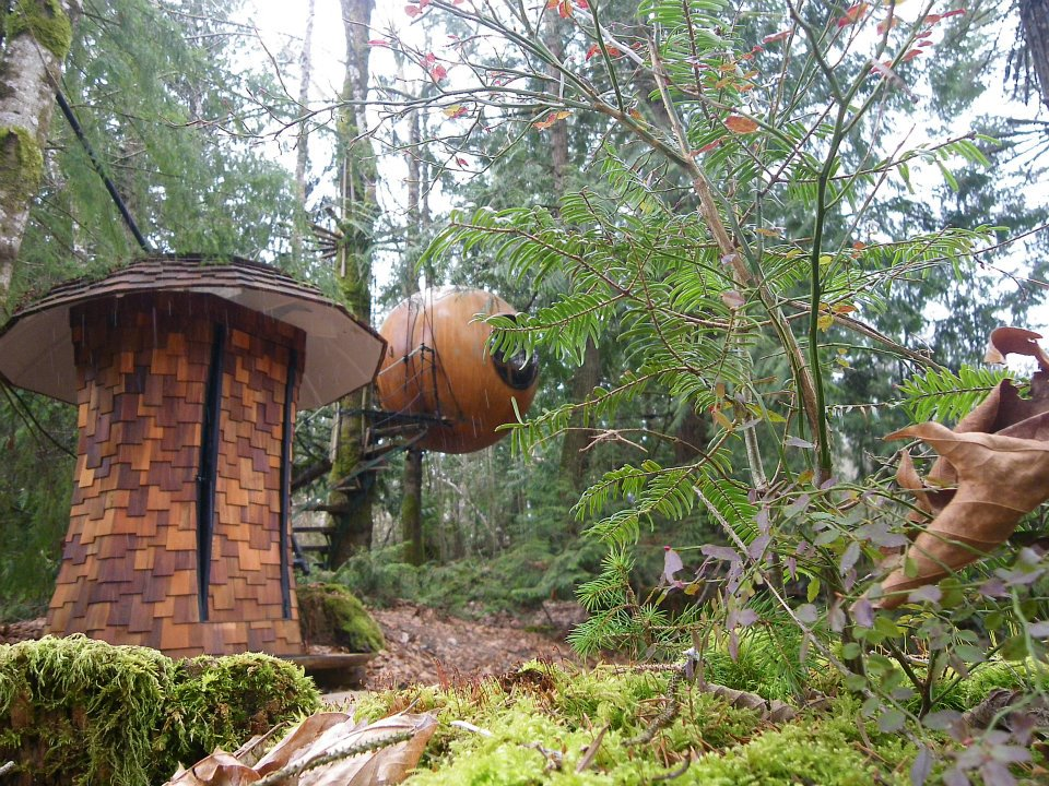 There's a spherical treehouse hotel in Canada that is ultimate camping goals — and it's not even that expensive