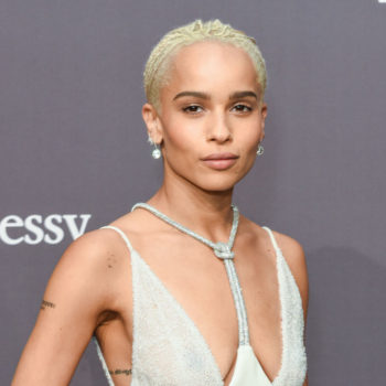 Zoe Kravitz went out on a first date, and went home with a giant turtle