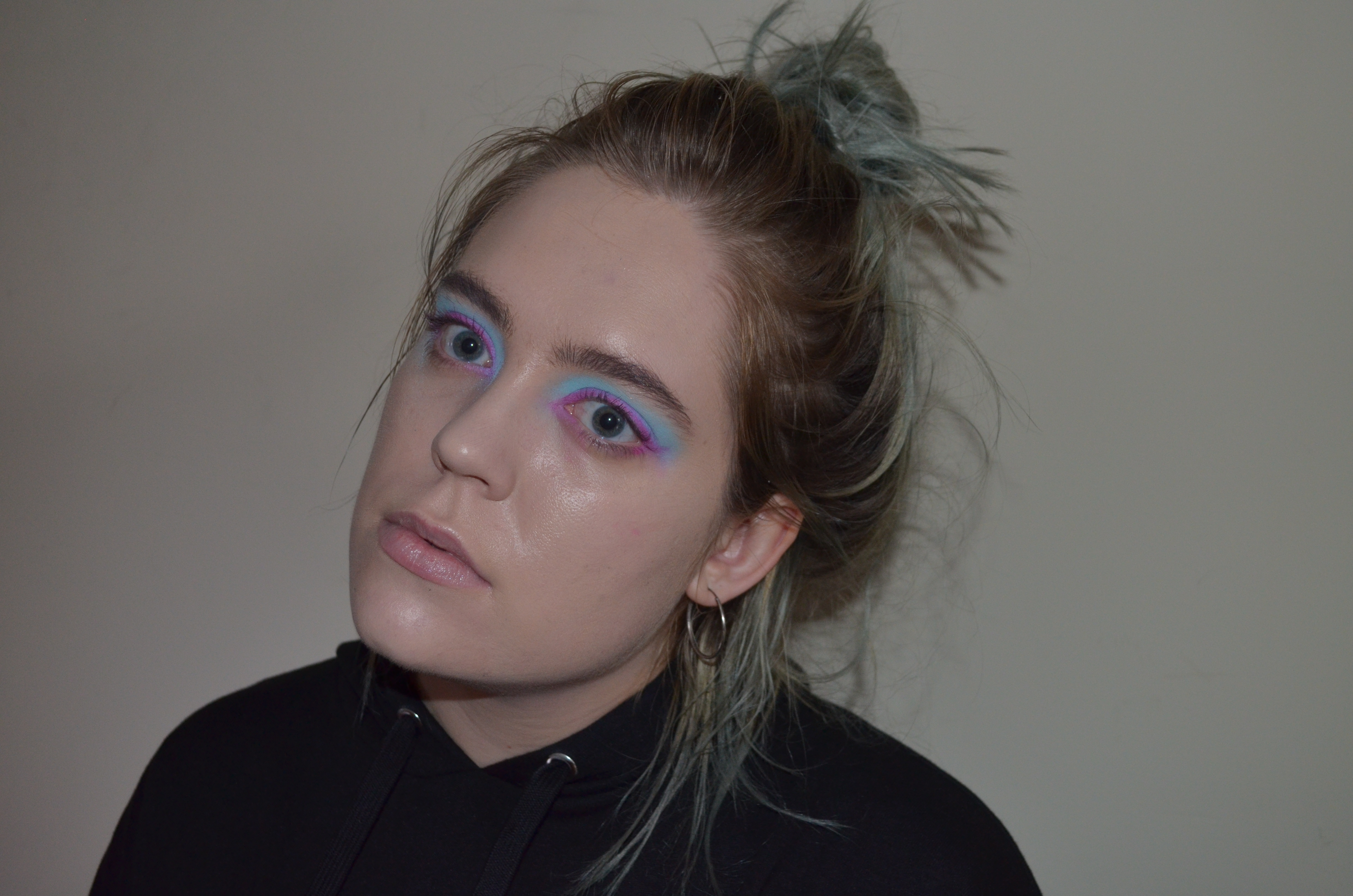 Heres How You Can Recreate An Edgy Color Combination Eye Makeup