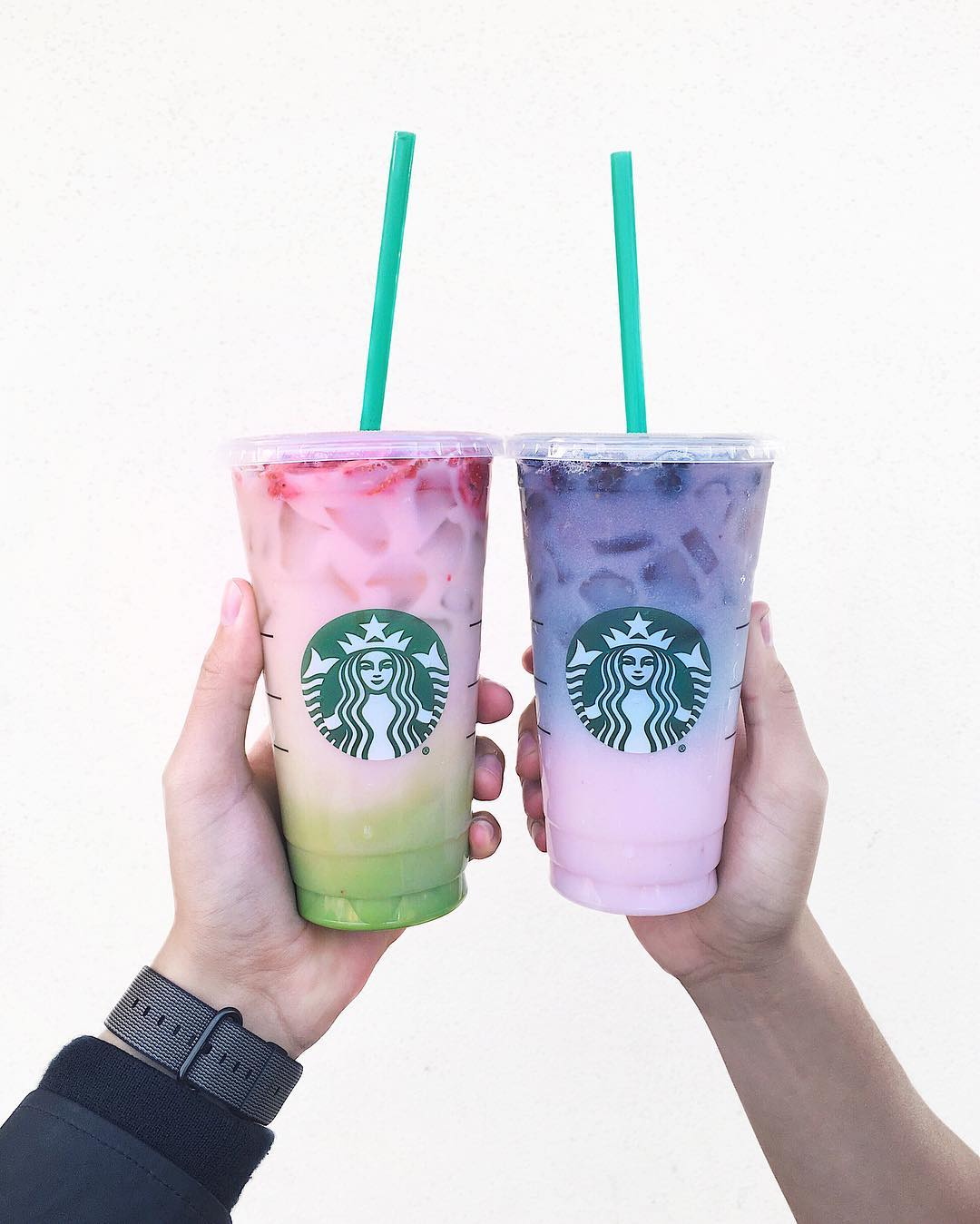 Starbucks Pink Purple Drink Is A Carnival In A Cup