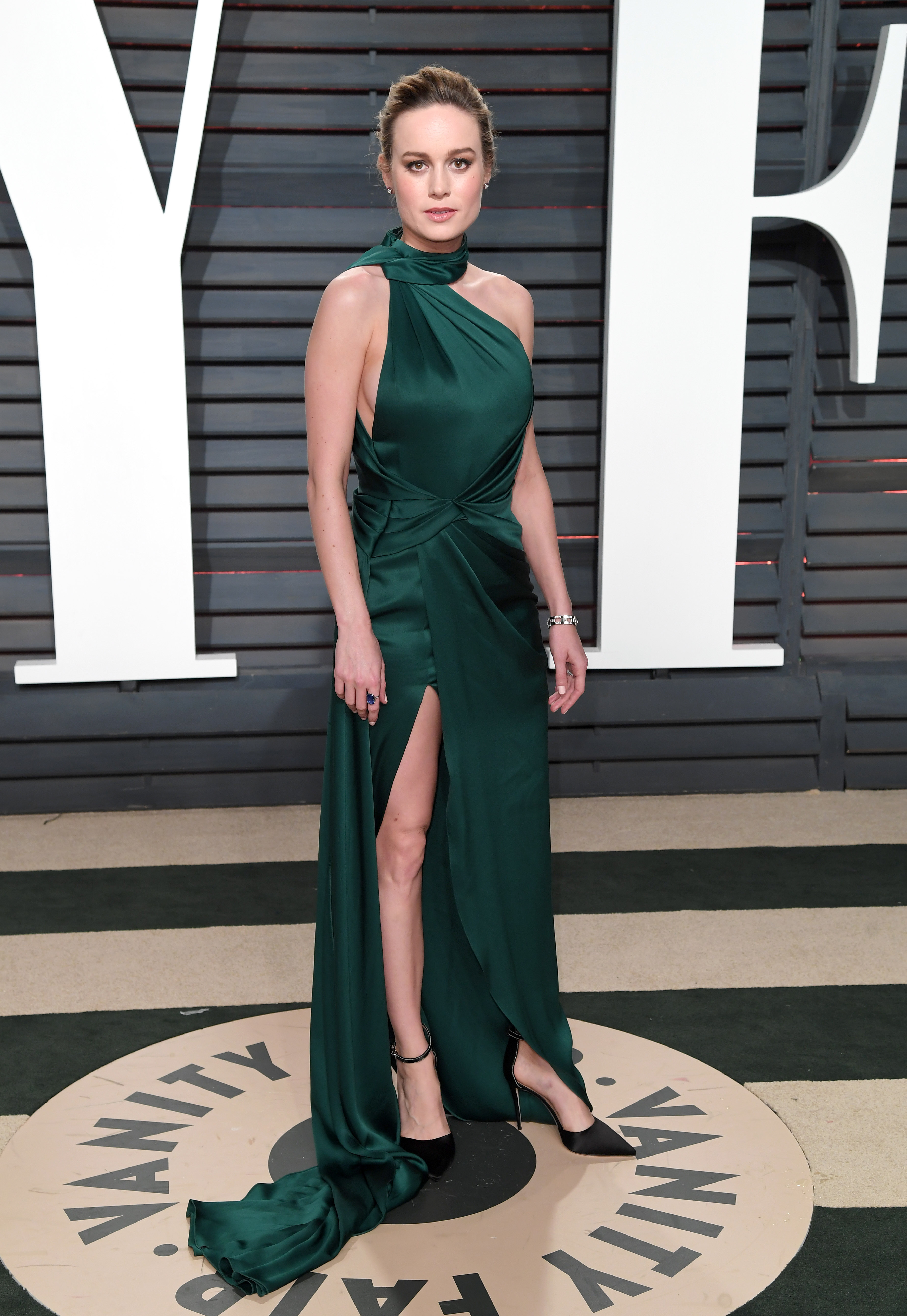 Brie Larson Has Worn This Type Of Dress Not Once But