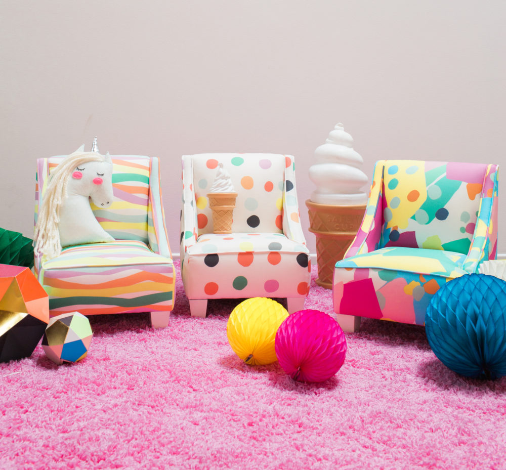 the full oh joy furniture set is now available for perusing on the target website and includes everything from kids chairs to daybeds