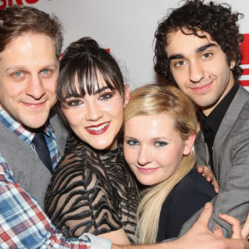 Abigail Breslin had a panic attack on stage, but her supportive co-stars totally had her back