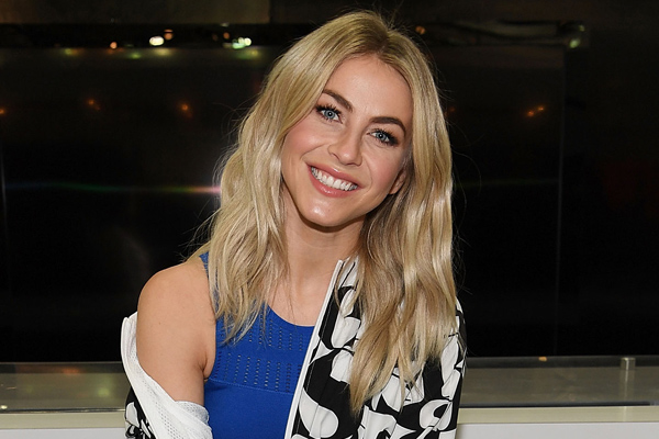 julianne hough just won for most creative bachelorette party