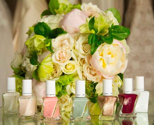 Essie's collab with bridal designer queen Monique Lhuillier will give you the perfect wedding-ready claws