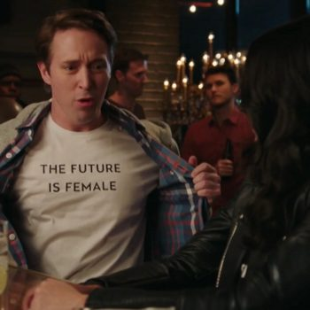 """This very NSFW """"SNL"""" sketch about feminism and getting hit on at a bar is hilariously relatable"""
