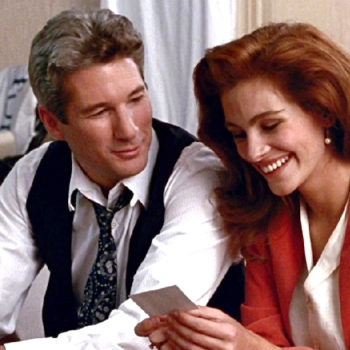 "Apparently the original ending to ""Pretty Woman"" was VERY dark"