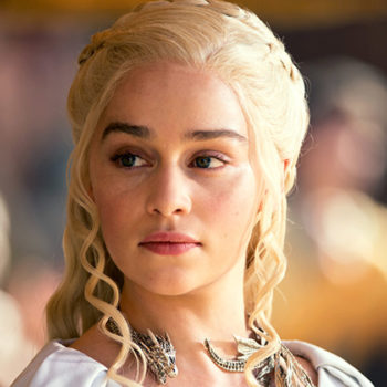 "Emilia Clarke says she doesn't ""need to justify"" her nude scenes in ""Game of Thrones"