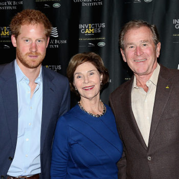George W. Bush says Prince Harry really is Prince Charming, confirming what we basically already knew