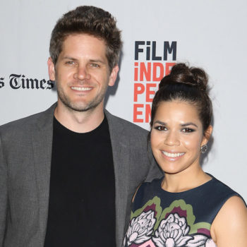 America Ferrera and her husband wore matching outfits and we'd like to join in