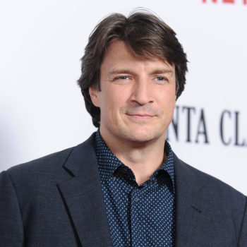 "Nathan Fillion had a fanboy freakout about ""The Hunger Games"""