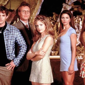 """This is maybe the weirdest cast memory from the 20th anniversary of """"Buffy"""""""