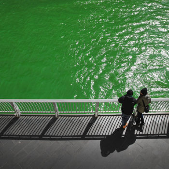 Here's the real origin of why Chicago dyes the river green on St. Patrick's Day, and it's completely not what we thought