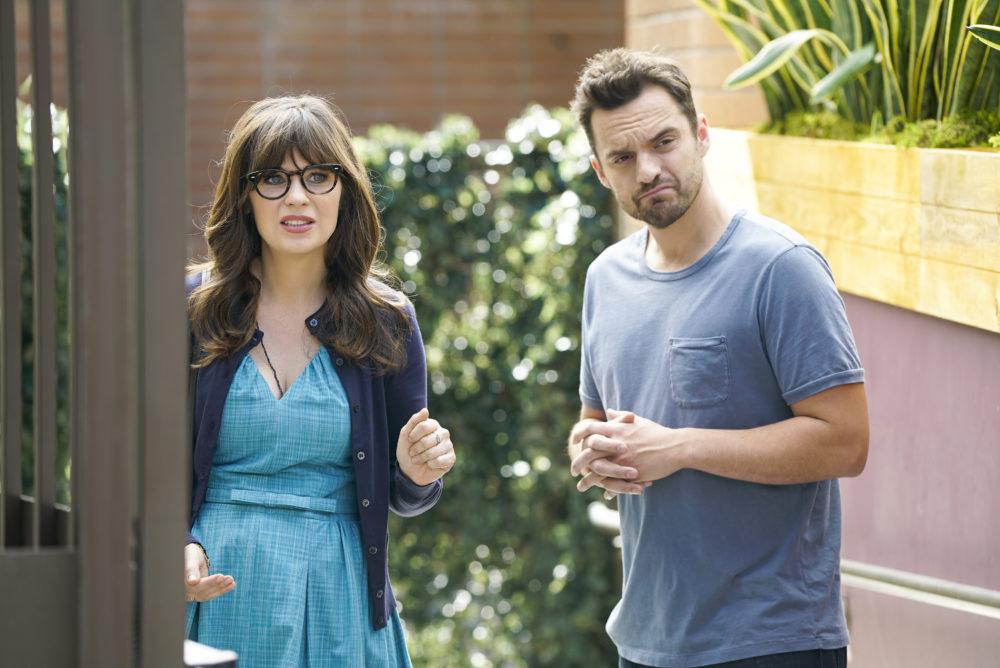 "Jess has a nose ring in ""New Girl"" Season 7 — and more behind-the-scenes photos you have to see"