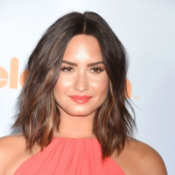 "Demi Lovato glowed as she talked about celebrating her ""sober birthday"""