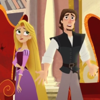 Rapunzel just became the first Disney Princess to do this, and it's a big deal