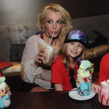 Britney Spears and her family spent the day at Disney World, and it looked like so much fun