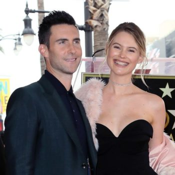 Adam Levine and wife Behati Prinsloo are locked in an adorable parenting battle