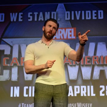 Chris Evans continues to prove he literally *is* Captain America with his stance on speaking out against injustices