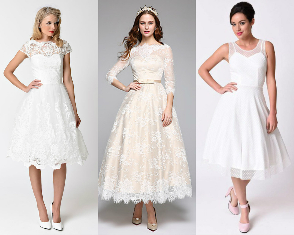 Here are 22 affordable retro-inspired wedding dresses that won't ...