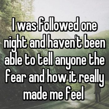13 women share terrifying real-life stories of being followed