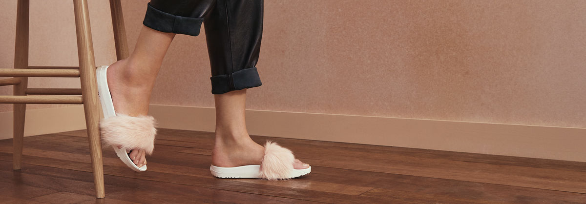 Rihanna Would Approve Of Ugg S Newest Sandals Hellogiggles