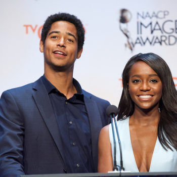 """There's speculation that """"HTGAWM"""" stars Alfred Enoch and Aja Naomi King are dating and OMG, we so need this to be true"""