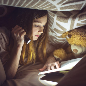 Write for the little girls who read books under their covers with a flashlight