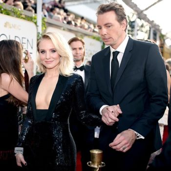"""Dax Shepard got bumped off a late-night roster for a """"bigger star,"""" aka his wife, Kristen Bell"""