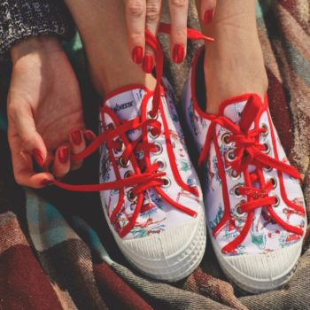 This new Miss L Fire and Novesta sneaker collab is a retro lover's dream come true